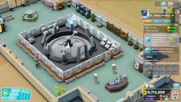 《双点医院》公布全新DLC 8月29日正式推出
