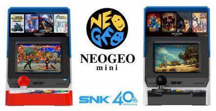 已绝版 SNK宣布40周年纪念NEOGEO mini机停产