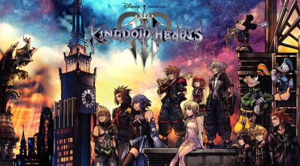 北美游戏销量统计:《王国之心3》成为该系列史上最畅销作品