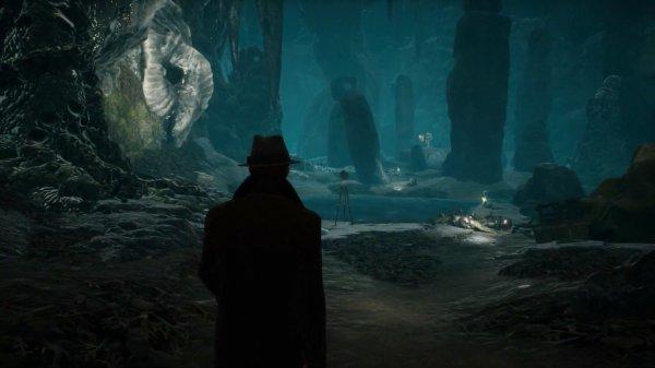 《沉没之城》发布NS版实机演示 克苏鲁神话恐怖来袭