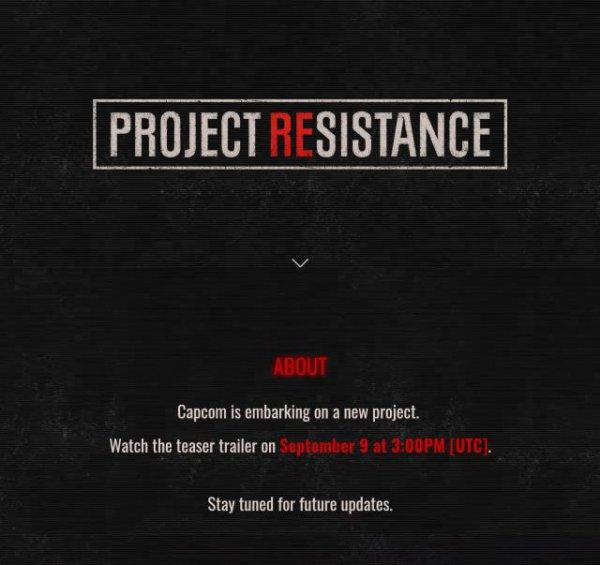 《生化危机》新作确认 官方宣布将于9月9日晚公开