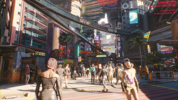 《赛博朋克2077》比《巫师3》地图小 更接近真实城市