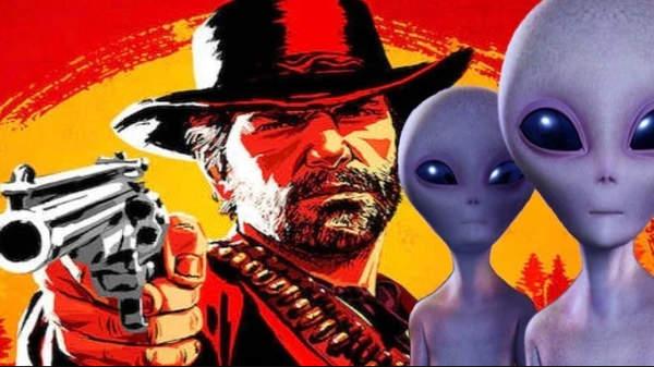 传《荒野大镖客2》将出单人剧情DLC 牛仔搭配外星人