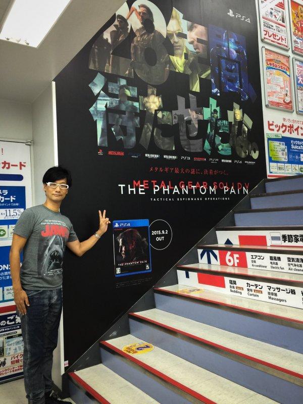 《合金装备5:幻痛》发售4周年 小岛秀夫发旧照怀念
