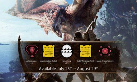 《怪物猎人:世界》销量突破1300万 道具套装包免费送