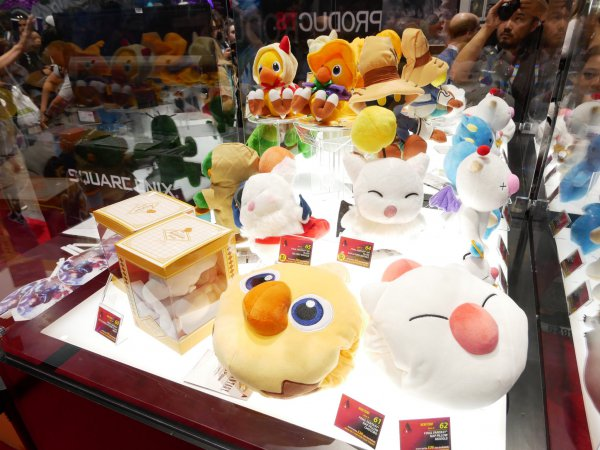 《最终幻想》霸屏SE展台 降临SDCC2019动漫展