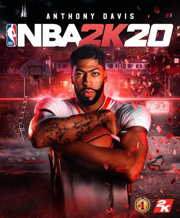 《NBA 2K20》首批截图 詹姆斯浓眉哥湖人总冠军