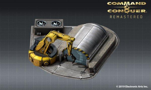 《红色警戒》重制版设计图曝光 来自苏俄的磁能坦克