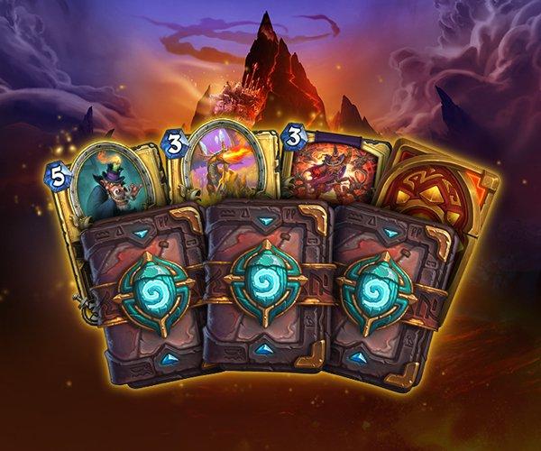 《炉石传说》怪盗火焰节活动开启 新扩展包卡牌揭晓