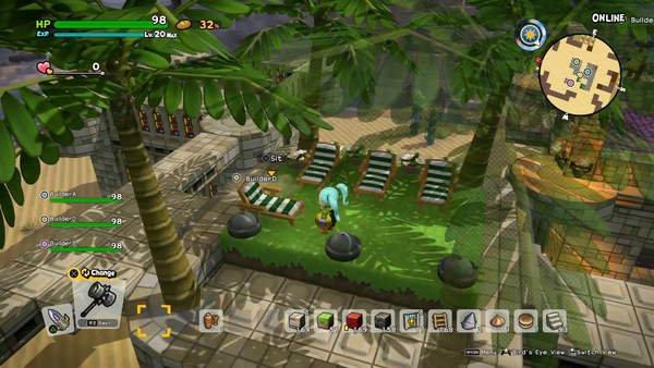 《勇者斗恶龙:建造者2》多人模式预告 共筑温馨家园