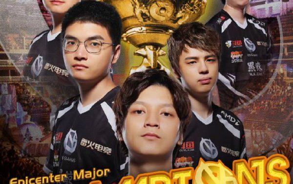 击败Liquid强势夺冠 VG拿下震中杯Major冠军
