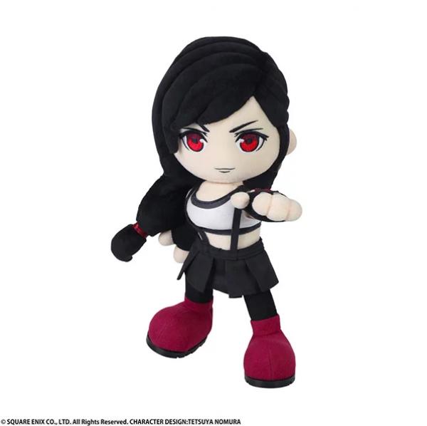 《最终幻想7:重制版》新版蒂法推出可动毛绒玩偶