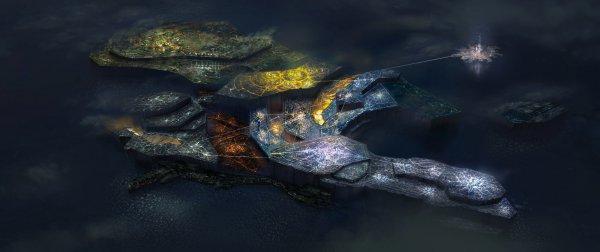 白金新作《星魂之链》发布新情报 人工岛屿方舟亮相