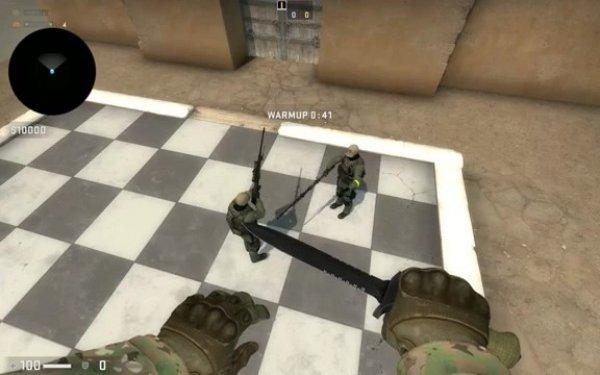 玩家自制《CS:GO》自走棋 游戏玩法引发网友热议