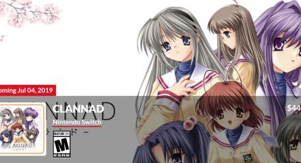 催泪神作《Clannad》NS版公布 激情虐恋高清重置