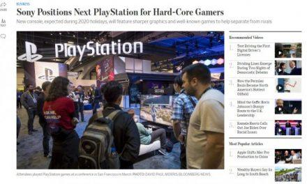 PS5将专注硬核玩家 预计2020年圣诞节上市