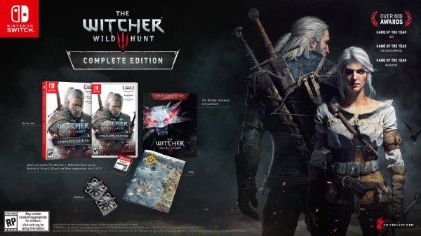 NS版《巫师3:狂猎》开启实体预购 游戏售价59.99美元
