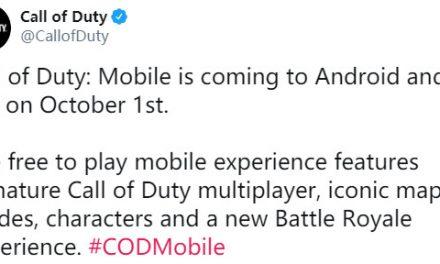 《使命召唤手游》10月1日登陆国际服 登陆安卓和iOS