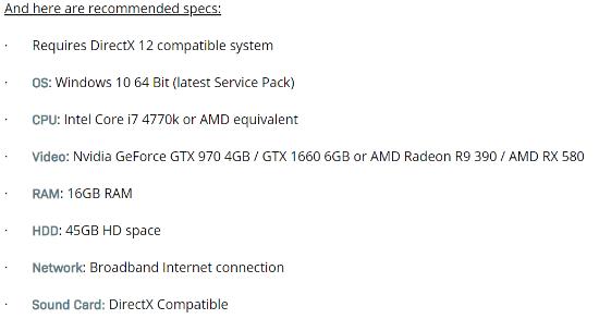 《使命召唤16》PC配置需求公布 推荐GTX 970