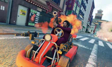 《如龙7》新预告公布 春日一番展开街头飙车竞速