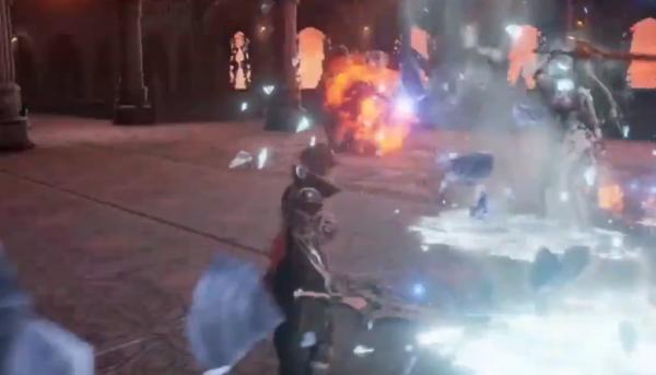 《噬血代码》发布新Boss预告片 冰火Boos强势联手