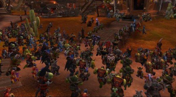 《魔兽世界》8.25CG公布 一代部落大酋长就此消逝