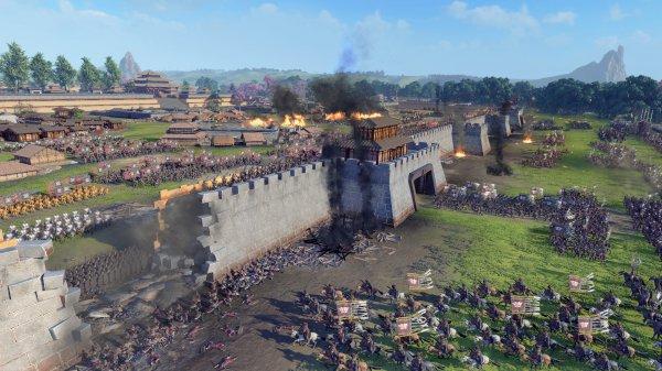 《三国:全面战争》更新新版本 四位传奇武将登场