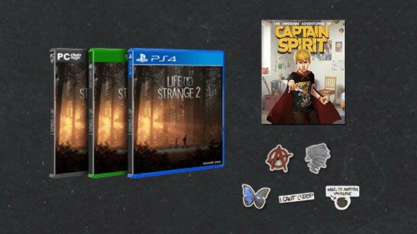 《奇异人生2》实体版即将推出 包含五季全部内容