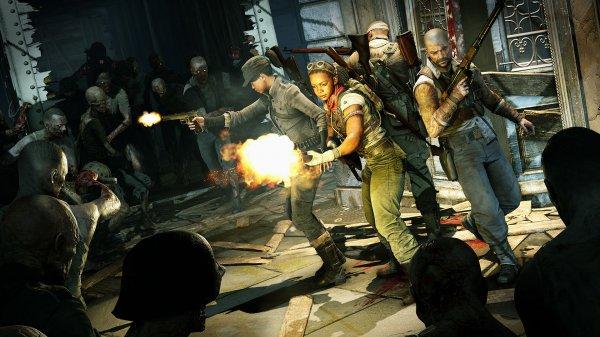 《僵尸部队4》新预告公布 明年2月4日正式发售