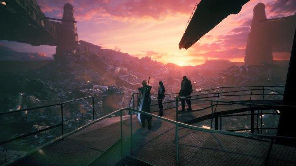 《最终幻想7:重制版》发布新预告 克劳德左拥右抱