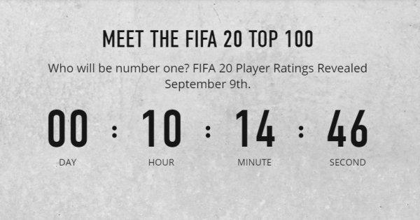 《FIFA 20》发布真人预告 TOP100球员评分正式揭露