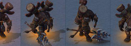 《魔兽3:重制版》大量角色模型曝光 外观不变更精细