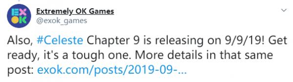 《蔚蓝》第九章9月9日上线 通关前八章可免费解锁