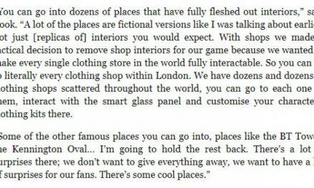 《看门狗:军团》有大量建筑可探索 服装店需要亲自逛