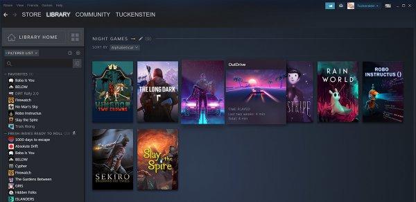 Steam新版游戏库9月17日上线 新功能展示