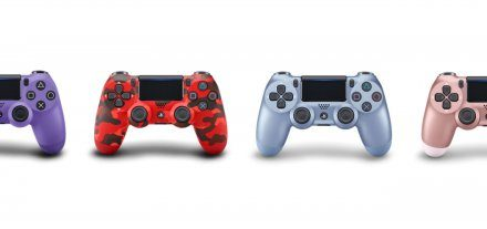 玫瑰金等全新配色PS4手柄公开 9月6日正式推出