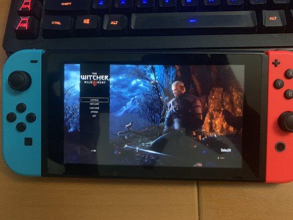 《巫师3:狂猎》NS版实机屏摄照片曝光 科隆或有新消息