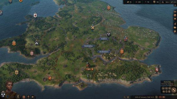 《十字军之王3》上架Steam平台 中世纪大战略类型RPG