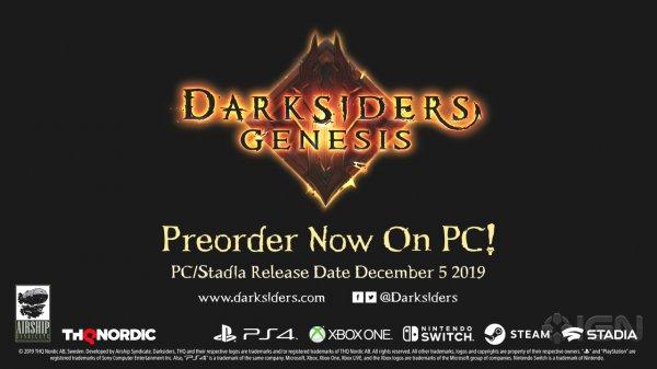 《暗黑血统:创世纪》新宣传片公开 PC版定档12月5日