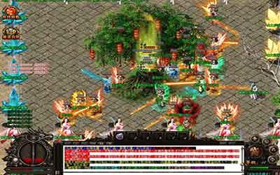 击倒公益服传奇的魔龙教主能得到哪些游戏道具?