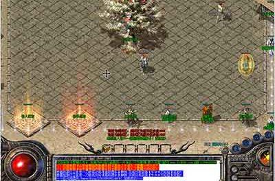 话说变态版热血传奇战士的野外作战有多强?