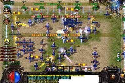 传奇私服游戏里边大家想要成为沙城的盟主,最先必须在比奇省君王