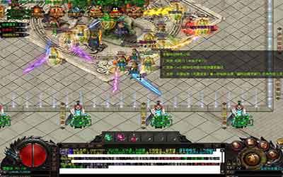 游戏中传奇sf客户端的十转地形图