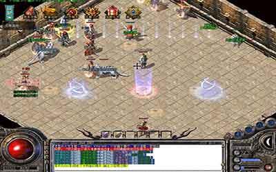 等游戏玩家做到六十六级时就可以玩塔防游戏诛魔主题活动